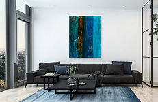 Laura Anderson Artist - Original Contemporary Artwork for Luxury Estates and Corporate Offices