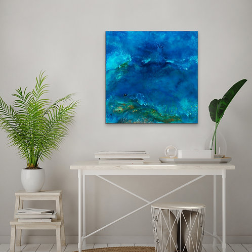 Above Ocean Print