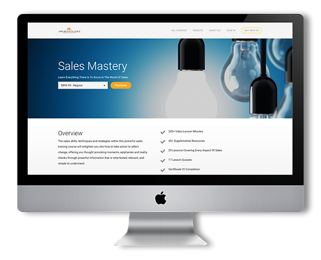 Sales Mastery - Online Training