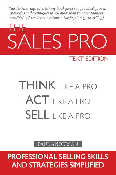 The Sales Pro Text Edition - Hard Cover