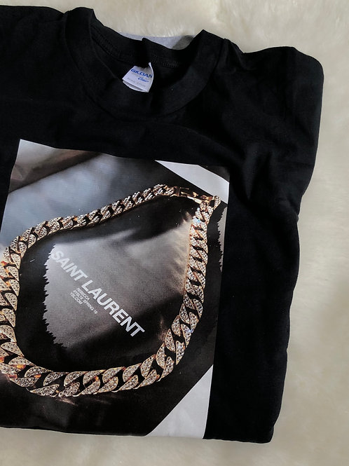 The Gold Edition 'Chain tee'