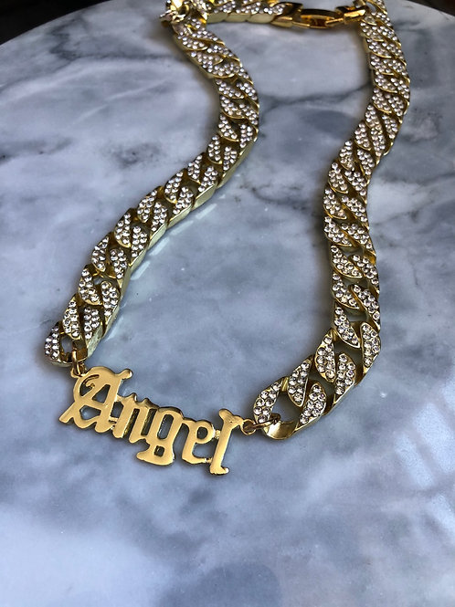 ANGEL DIAMOND CHAIN