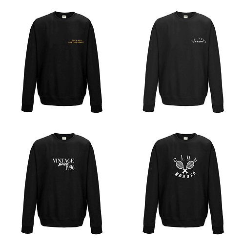 Deluxe Apparel 'SWEATER' Collection (pre-order)