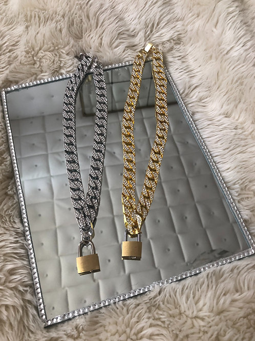 LOCK DIAMOND CHAIN (pre-order)