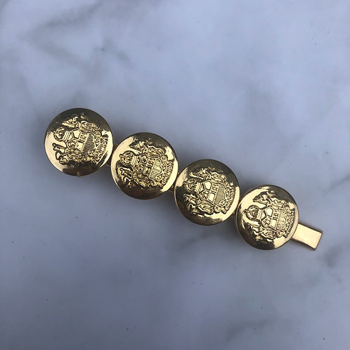 The gold coin clip