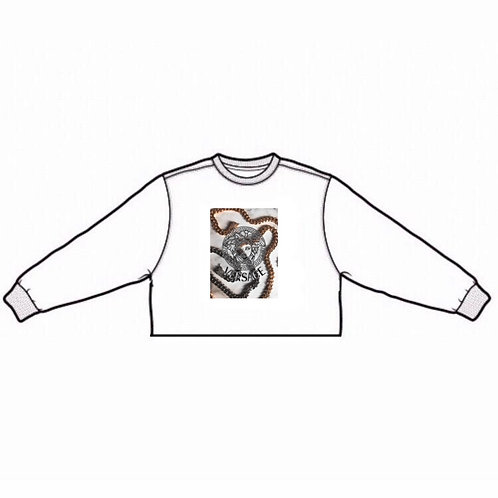 Deluxe x Offbeat   cropped sweater (limited edition)