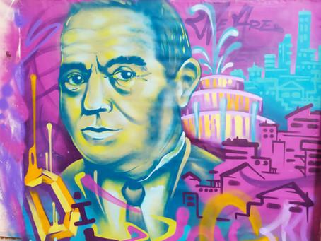 Historical Tel Aviv Graffiti Tour.... in the making !