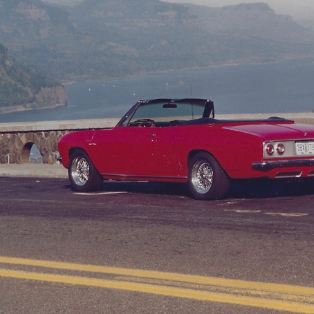 "1965 Corvair Corsa Turbo Convertible ""PORSCHE KILLER"""