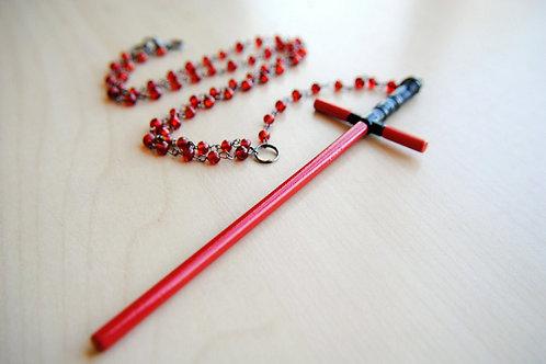 Star Wars Inspired Tri-Saber Rosary