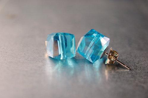 Marvel Inspired Tesseract Earrings