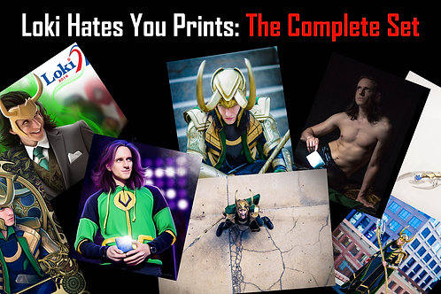 Loki Hates You Prints: The Complete Set