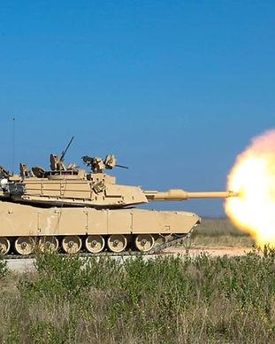 M1A2 Improved SEP Main Battle Tank Firin