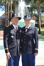 2LT Zwerver and LTC McCulloch - May 2016