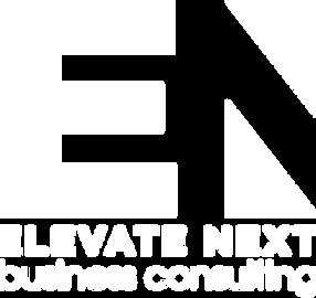 Elevate Next with Tagline Turqoise & Bla