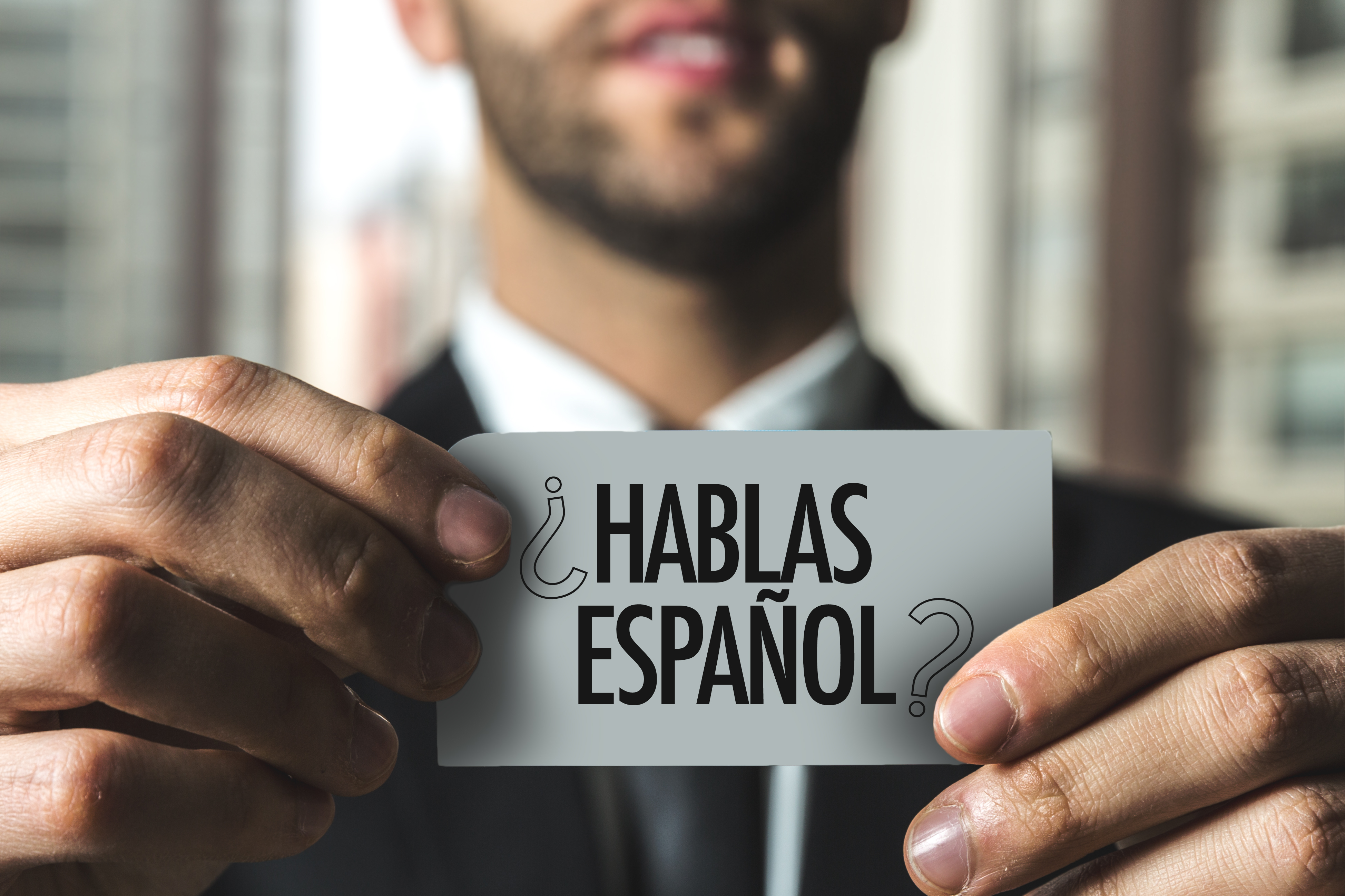 Se Habla Espanol!  We speak Spanish.