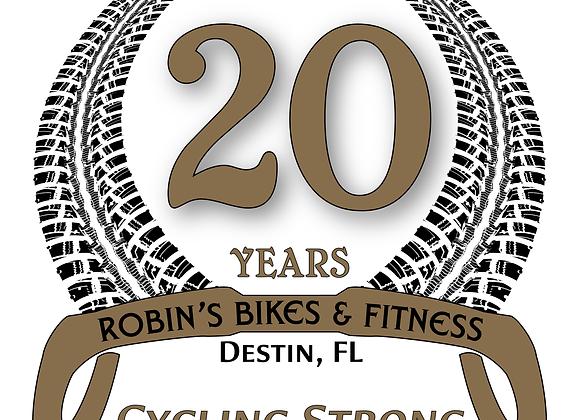20th Anniversary Sticker