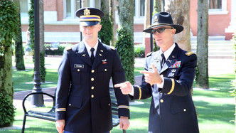 2LT Brown and LTC McCulloch May 2014.JPG