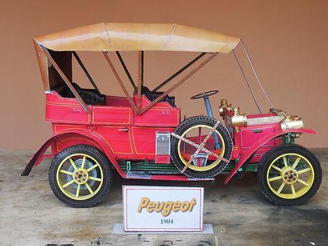 Peugeot - 1904 - Modelo em papel