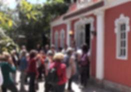 Convidados visitam o Museu Ronaldo J. Ribeiro