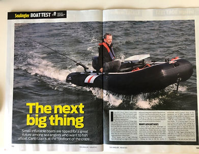 Sea Angler magazine feature