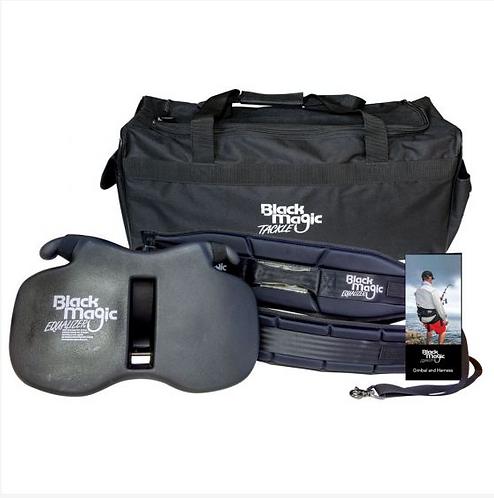 Black Magic Equalizer Fighter Belt with carry bag