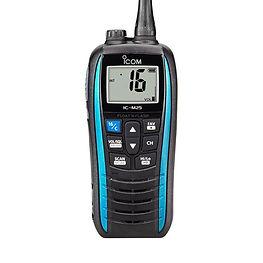 ICOM M25 handheld radio Blue