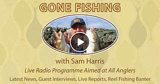 Sam Harris CVFM the radio show inflatable boat fishing has a regular spot on