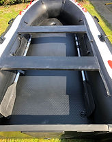 Hydrus II stashed oars