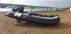 The Hydrus II inflatable boat