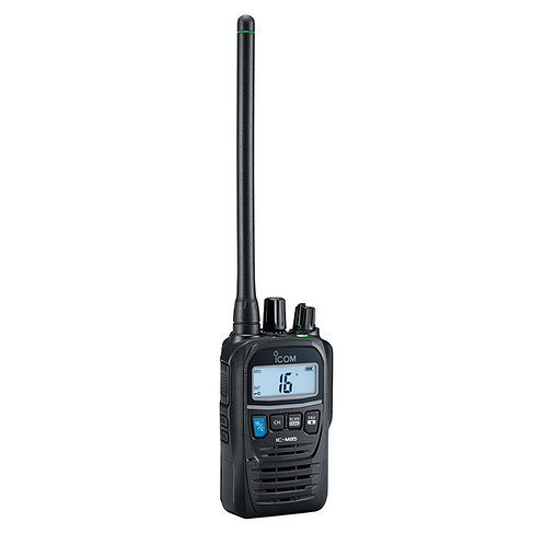 icom vhf hand held radio set