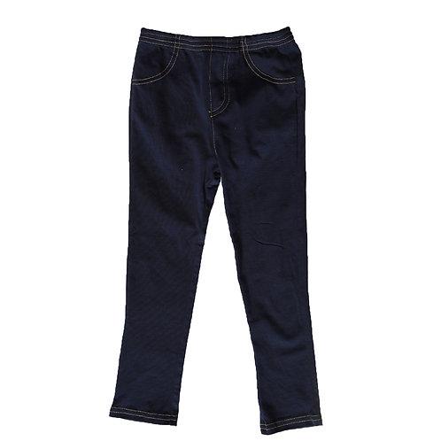 Girls EZ Pants Navy
