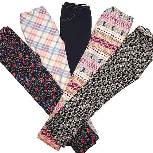 Girls EZ Pants (Set of 5)