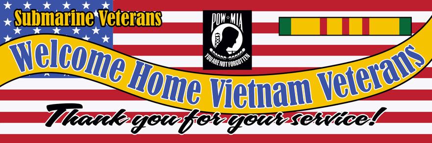 Sturgeon Base Sub Vets - Welcome Vietnam