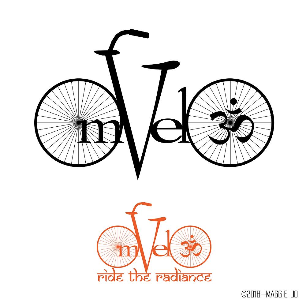 OmVelo Logo + Tagline + Branding + Business Development + Creative Planning by Maggie Jo