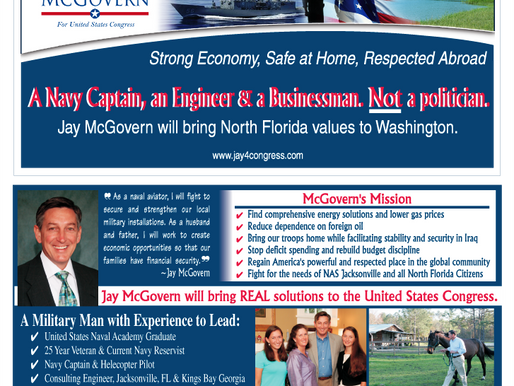 Jay McGovern for US Congress Campaign Graphic Design