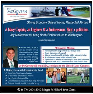 Maggie Jo Political Graphic Design Sample