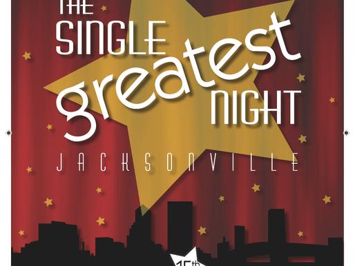 Cystic Fibrosis Foundation Single Greatest Night Event Program Magazine Design + 15th Anniversary Ev