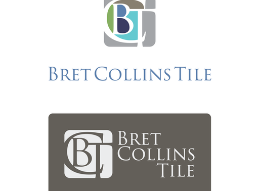 Bret Collins Tile Logo + Business Card Design