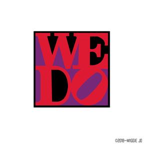 WeDo Wedding Weeks Logo + Contest Postcard Design | Loft Reverie Louisville
