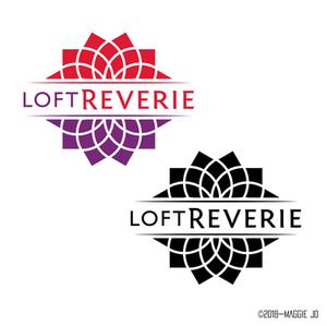 Loft Reverie Hotel + Venue Logo Design by Maggie Jo