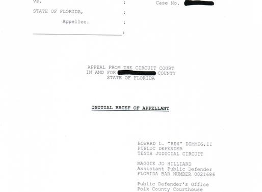 Appellate Practice: Juvenile Criminal Law, Florida (Redacted) Appellate Brief | Restitution (Causati