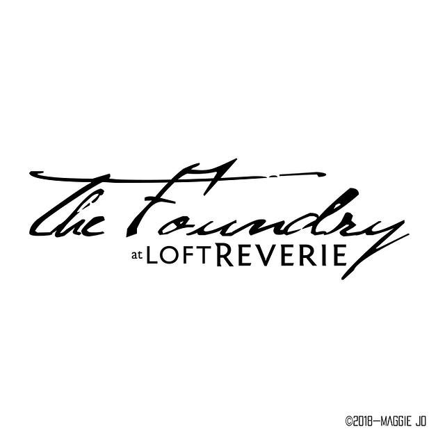 The Foundry at Loft Reverie   Logo Design + Web Design +