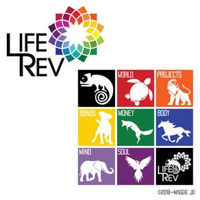 LifeRev Event Logo Designs + Web Design + Promotion