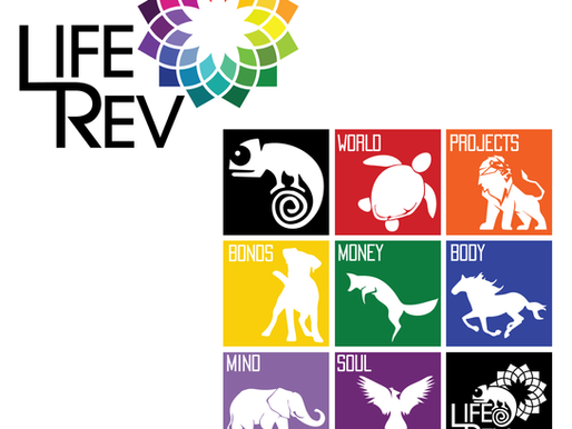 LifeRev Event Logo Designs + Web Design + Promotion