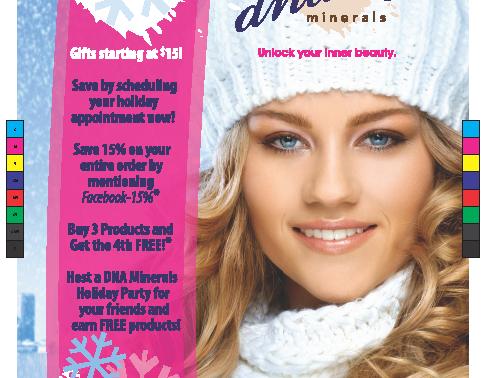 Mineral Makeup Company Advertisement