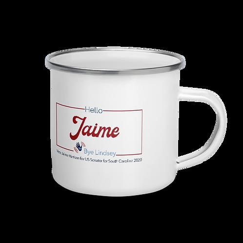 Bye Lindsey! & Hello Jaime! 2020 Enamel Mug