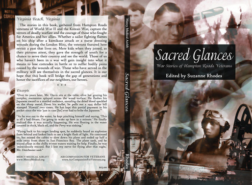 Book Cover Design Sacred Glances | Suzanne Rhodes