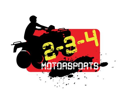 2-3-4 Motorsports | Logo Design