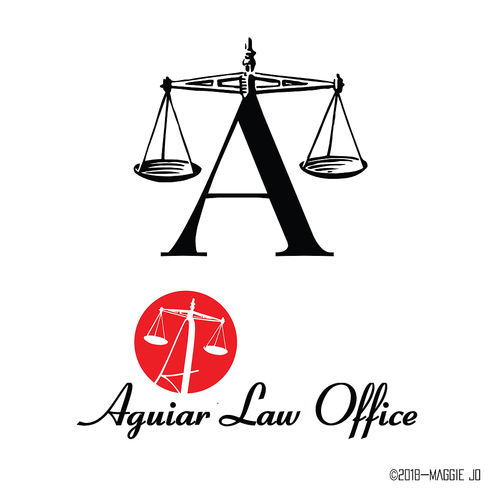 Aguiar Law Office Logo Creations by Maggie Jo