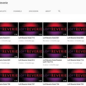 Hotel Video Tour Production + Design for Loft Reverie